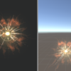 Unity パーティクル(4) 炎の属性付き打撃
