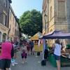Farmer's marketで食べ歩きと観光@Bury St Edmunds