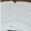 「ふたふで箋」のデザインの封筒