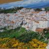 スペイン アンダルシアの白い村カサレス。パズルの達人1500ピース越冬の話。