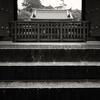 大雨の日の薬師寺中門