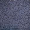 着物生地(184)花唐草模様手織り真綿紬