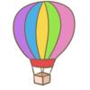 有為自然 570   「気球って 好きですか ?」  (中)  (105)