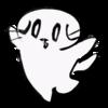Y字バランスに挑戦する猫のイラスト