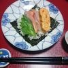 我が家の食卓ものがたり 巻いて巻いての手巻き寿司 より。