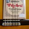 ギター弦交換:プロアルテのブラック弦(EJ49)