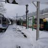 豪雪の大糸線