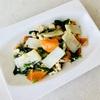 手作りモチモチ米粉麺の鶏そぼろゴマ油炒め  グルテンフリー&低フォドマップ