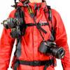 【登山道具のススメ】一眼レフ2台でも快適に持ち運べる、コットンキャリアストラップショットレビュー