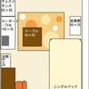 1Kやワンルーム、1ldkなどの狭いお部屋におけるお部屋のコーディネート