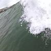 ライディング目線で乗った波を撮影した結果