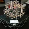 豊島区の区民作品展にテンセグリティを展示します