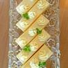 口どけ滑らかな(≡^∇^≡)  ナッペも楽しいバタークリームケーキ♪