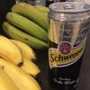 セブの炭酸水Schweppes(シュウェップス)とフィリピンバナナ
