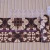 新之助上布と半巾帯の組み合わせ