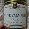 【晩酌BBA】安うまスパークリングワイン~VEUVE VALMANTE BRUT (フランス産)