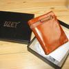 c0001 DZET 財布 レディース 二つ折り財布 牛革 レザー 小銭入れ カード入れ ウォレット オイル仕上げ 化粧箱付き