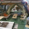 札幌市白石区にある『秀岳荘』でサーフキャンプ用品をcheck!!