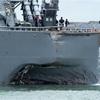 米駆逐艦衝突事故、行方不明10人全員の遺体を収容