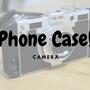 カメラ型iPhoneケースが想像以上に可愛い!ネックストラップの取り付けで落下を防止!