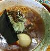 ●磐田市「ラーメンヤマシロ」のラーメン&羽付き餃子