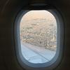 飛行機の機外カメラ(*^。^*)