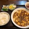 夏は麻婆豆腐