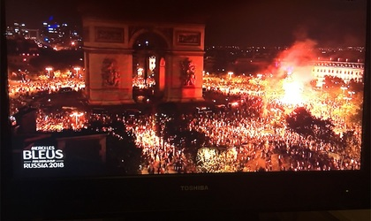 ワールドカップ決勝!パリで観戦