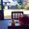 【茨城県 高萩市】夏季限定『高萩茶寮』で、「ほおずき」を使ったソフトクリームと、フワフワのかき氷を食べました♪