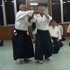 全日本合気道演武大会と山本益司郎先生の両手取呼吸投(連続写真)