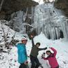 今シーズン3回目の大峰氷瀑トレッキング