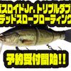 【イマカツ】冬のビッグベイトバス釣りにもオススメ「バスロイドJr. トリプルダブル デッドスローフローティング」次回出荷分予約受付開始!