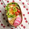 #324 野菜たっぷり玉子焼き弁当