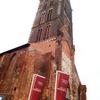 爆破される教会