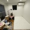 物置き状態だった寝室を改造