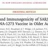 『高齢者への新型コロナ遺伝子ワクチンの結果は?』