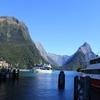 ミルフォードサウンド 遊覧船 絶景の青に感動 2017シドニー・ニュージーランドその17