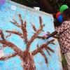 「夢の成る木」に花が咲きました。あなたの夢は何ですか?