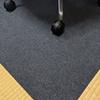 ゲーミングチェアマット(椅子のマット:滑り止め、畳対応):サンコー(三つ葉)NicoPF-106:レビュー