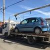 上尾市からパンクの車検切れ故障車をレッカー車で廃車の引き取りしました。