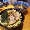 「つけ麺(もんげー麺ver.)」麺屋 達 武我