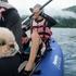 雨の青木湖でペットと一緒にカヤック体験・2021夏の信州⑤
