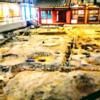 鴻臚館跡展示館 近年の発掘調査とその成果、東門と塀、復元建物、遺構展示、鴻臚館遺跡模型等を解説!