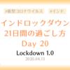 【ロックダウン記録】ロックダウン20日目 ~インドスナック食べ納めの日~