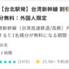 【台北⇔台南】高速鉄道の安いチケットを探してみるの巻《台湾新幹線》