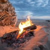 【キャンプ】意外と知らない薪で焚き火をするときの注意点!!