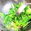目から鱗!これだけで店の味!本気に旨い青菜炒め(小松菜)作り方