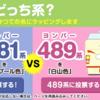 京都鉄道博物館の583系と489系 投票で【シュプール色】か【白山色】にラッピングされるΣ(・□・;)