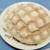 厚めのビスケット生地!セブン「サックサクメロンパン(欧州産発酵バター使用)」のレビューとカロリーです♪