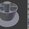 3Dプリンター用データをBlenderで作る③オブジェクトを組み合わせてオブジェクトを作る